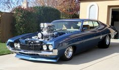 Wild Blown 1970 Ford Torino GT