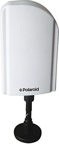Polaroid 75 Mile HDTV Antenna  Receives Free HDTV Broadcast Channels 75 Mile Reception Enhanced Quality & Sound