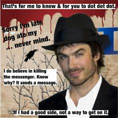 Damon from Vampire Diaries quotes