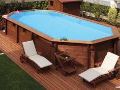 A moda da vez na área de lazer é a piscina acima do solo