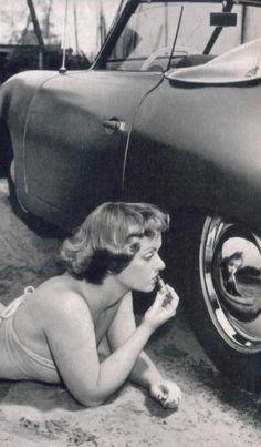 Mirror wheel Porsche