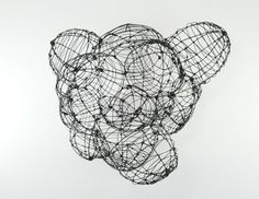 Bubbles  (c) Barbara Gilhooly  Annealed Steel wire