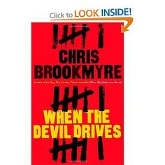 """This Brookmyre series is helping me enjoy wasting time this summer. Really good--who knew """"jammy"""" means """"lucky"""" in Scottish--at least that's my best guess. Great Books, New Books, Books To Read, Private Investigator, Book Jacket, Reading Challenge, Life Pictures, Tk Maxx"""