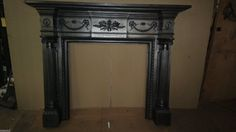 large antique Victorian cast iron surround  by ANTIQUEFIREPLACES
