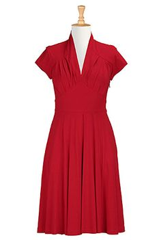 www.eshakti.com dress that is fully customizeable for measurements, size, sleeves, length, etc.