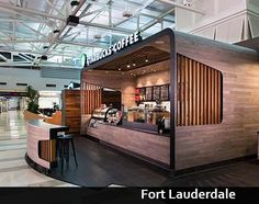 Café + Containers + Starbucks: UP! Container Coffee Shop, Container Shop, Kiosk Design, Retail Design, Corporate Design, Design Design, Starbucks, Cafe Restaurant, Restaurant Design