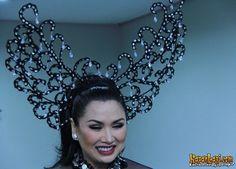 Indonesia Diva, Titi DJ wearing Oscar Daniel Headpieces