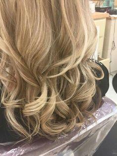 Blonde w/ a little chocolate  (Stacie Edgar)