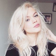 white blonde hair pale skin - Google Search