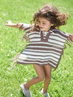 Free Pattern - This adorable striped #crochet coverup makes is perfect for trips to the beach!