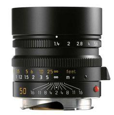 Leica Summilux-M 1:1,4/50 mm ASPH., schwarz eloxiert