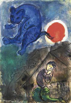 Marc Chagall - 1887 - 1985, 1949/50