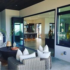 Blur the lines between indoor and outdoor living with a Panoramic Door System! Click the link in our bio for more #panoramicdoors #foldingdoorsystems #bifold #luxuryliving #homeimprovement #outdoorliving #architecturelovers #interiordesign #exterior #patio #doors #roomwithaview #thegreatoutdoors #madeintheusa