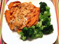 Attack of the Hungry Monster: WIAW: Sweet Potato Chicken Enchilada Crunch ENTREE & SIDE #7
