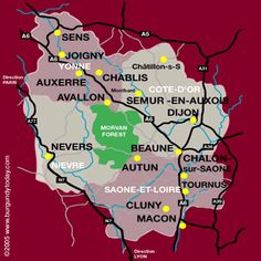 Map Of Yonne France.10 Best Maps Of France Images France Map Map Of France Maps