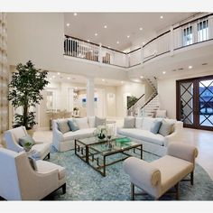"""""""Living room love! Love how bright & open & welcoming this living room feels!"""