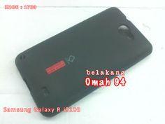 KODE BARANG : 1730 Jual Silikon Capdase Soft Case Samsung Galaxy R i9103 Hitam (Black) | Toko Online Rame - rameweb