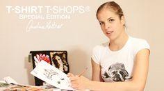 T-shirt T-Shops e Carolina Kostner: connubio perfetto tra moda e sport