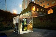The buBbLe Prototype Gives Nomads a Temporary Place to Stay #architecture