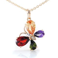 Butterfly Pendant Necklace for $24.0000