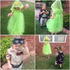 Who you gonna call?   Ghostbusters!   #ghostbusters #whoyougonnacall? Slimer costume designed and made by me #amyscottdesigns, we  upcycled a backpack to make the proton pack.