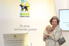 Queen Sofia celebrating 25th Anniversary of Guide Dog Foundation.