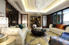 Show rooms.Hangzhou.China. www.domecn.com. When falling in geometry, the V shaped pattern, radial world, and constantly go beyond the spirit and strength to blow on the face, high style and visual impression of ancient and modern to create a noble elegant atmosphere.