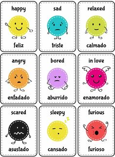 Smart tips and tricks for Spanish and English language learners. How to speak, pronounce, how to translate from Spanish into English and vice versa Spanish Lessons For Kids, Learning Spanish For Kids, Spanish Lesson Plans, Spanish Language Learning, Teaching Spanish, English Lessons, Teach English To Kids, Spanish Basics, English Games For Kids