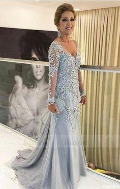 Elegant White Lace Prom Dresses Informal Dress,BD99084 – luladress