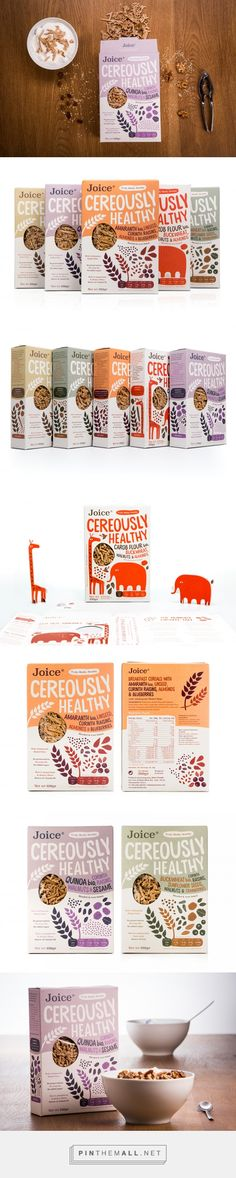 Joice Cereously Healthy packaging design by Bob Studio - http://www.packagingoftheworld.com/2017/03/joice-cereously-healthy.html