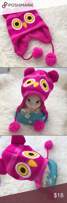 Owl Ear Beanie Hat! OS Owl Ear Beanie Hat! So cute on! •Excellent condition •Like new Accessories Hats