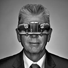Car Vs. Glasses by Ahmed Elborai, via Behance