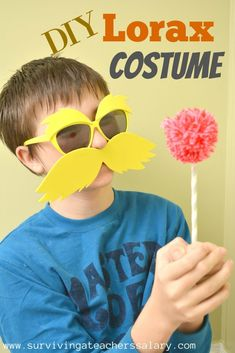 Readacrossamerica costumes and accessories read across america how to make your own diy dr seuss inspired lorax costume tutorial solutioingenieria Choice Image