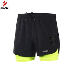 75b627c4443aa Cheap shorts men, Buy Quality shorts with tights directly from China tight  gym shorts Suppliers  Arsuxeo 2017 New Running Shorts Men 2 In 1  Compression ...