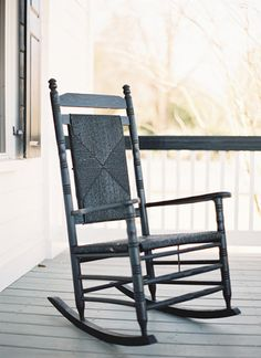 rocking chair front porches | Landon Jacob #wedding