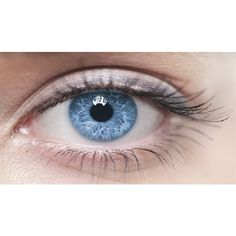 Genetic mutation responsible for blue-eyes ❤ liked on Polyvore featuring beauty products, eyes and makeup