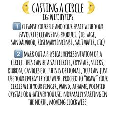 You've asked, so here it is! A common way on how to cast a circle, although keep in mind every witch is different! Always remember there is…