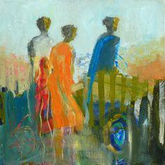 Cheryl Waale abstract figures