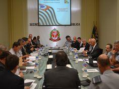 Grella se reúne com diretores e comandantes do interior