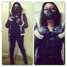 Female Bane- Cosplay Idea - this is pretty darn good