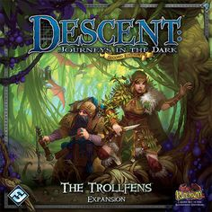 Descent: Journeys in the Dark (Second Edition) – The Trollfens | Image…