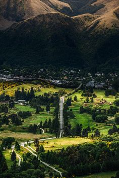 This is exactly what it looked like driving through Malborough, on the South Island of New Zealand