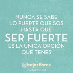 Nunca se sabe - http://bajar-libros.net/nunca-se-sabe/ #frases #pensamientos