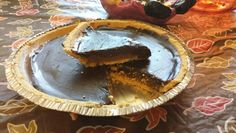Dark Chocolate Reese Pie