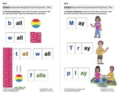 Recognize New Words: Lesson 8, Book 14 (Newitt Decoding Series) -- 24 half-pages (sides) for only $1.50 on TpT