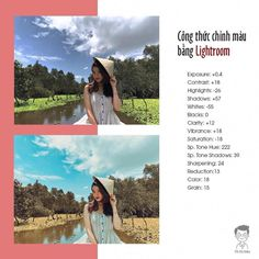 I chose this lightroom tutorial because in the after image I liked how the image looks very similar but it is also more vibrant and rather than a typical looking plot of land the background has very vibrant colors ie the sky while the grass is more dull.