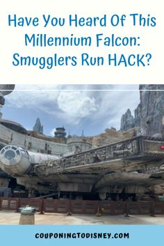 Have You Heard Of This Millennium Falcon: Smugglers Run HACK? Disney Parks Blog, Disney World Parks, Disney World Planning, Disney World Rides, Walt Disney World Vacations, Disney Trips, Cruise Vacation, Disney Cruise, Disney World Hollywood Studios