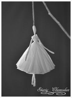 Бумажные балерины. Подробный мастер-класс.