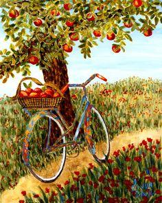 """Under the Apple Tree"""