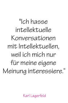 Karl Lagerfeld's 20 größte Weisheiten, nach denen alle leben sollten